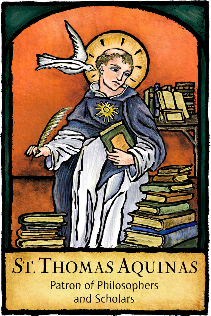 St. Thomas Aquinas - Patron Saints #444