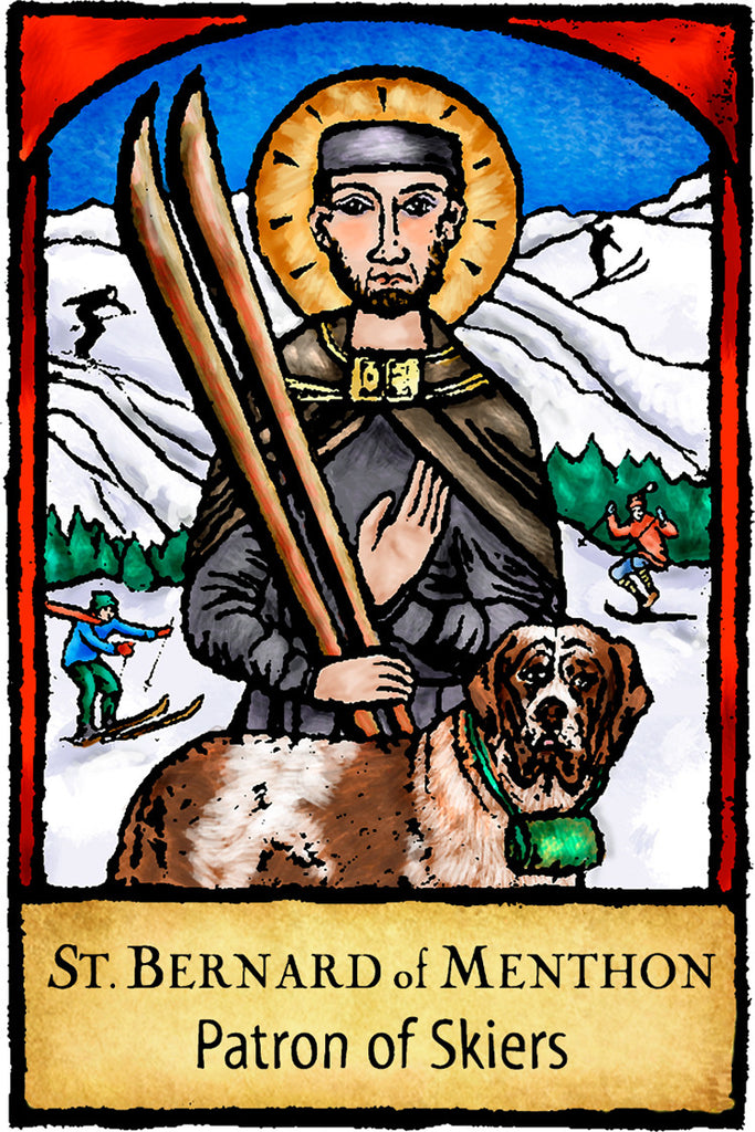 St. Bernard of Menthon - Patron Saints #448