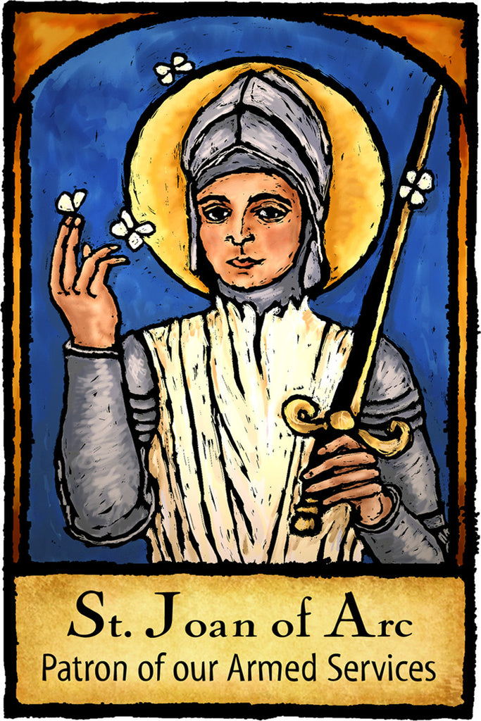 St. Joan of Arc - Patron Saints #450