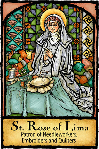 St. Rose of Lima - Patron Saints #459