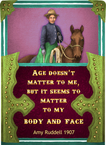 Age Doesn't Matter To Me - Cowgirls #534