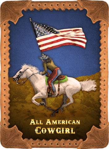All American Cowgirl - Cowgirls #541