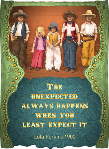 The Unexpected Always Happens When You Least Expect It - Cowgirls #548