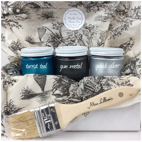 Metallic Mini Gift Set