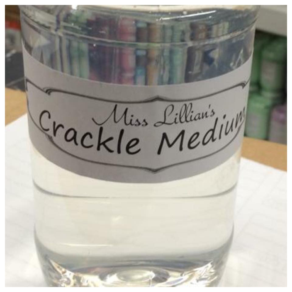 Crackle Medium 8 oz