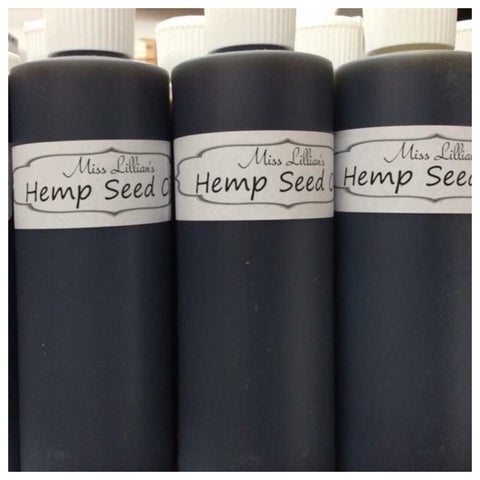 Hemp Seed Oil 10 oz
