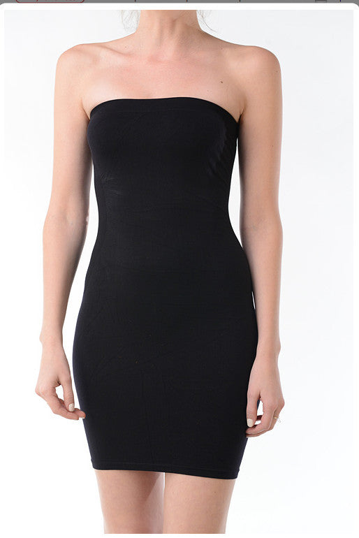 Seamless Tube Dress-Slip