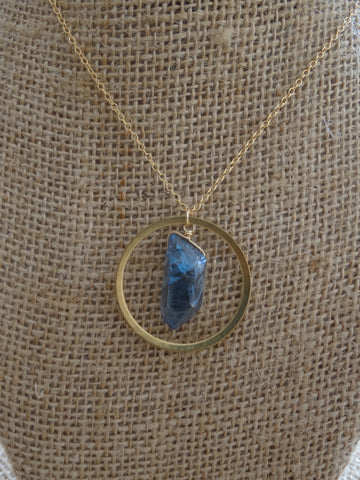Chloe Necklace - Blue