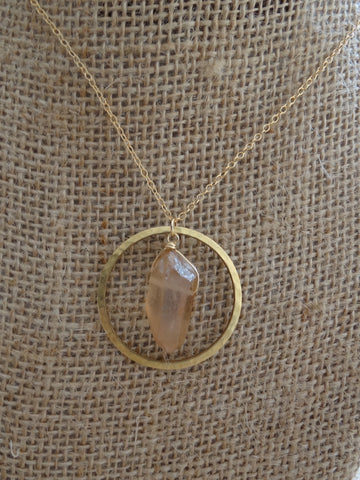 Chloe Necklace - Blush