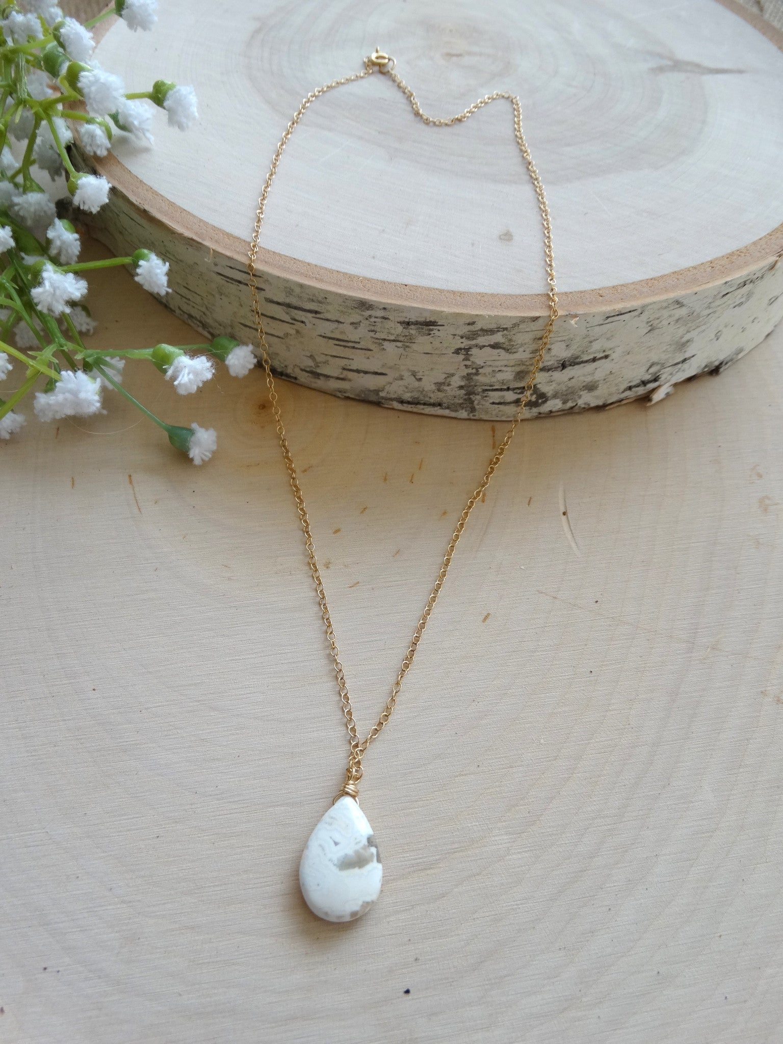 Ocean Jasper Necklace