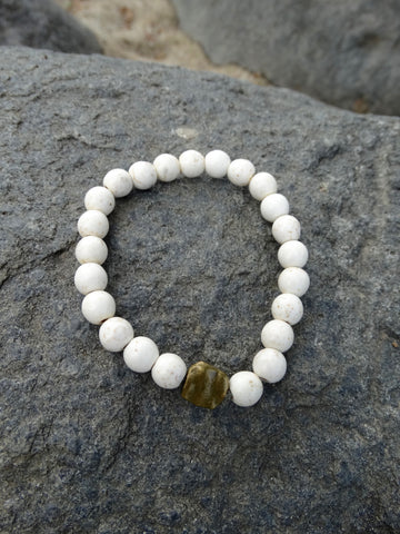 Cream Mermaid Bracelet