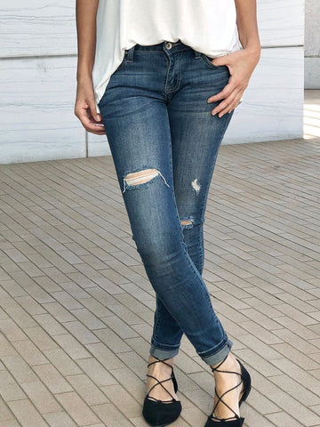 Hermosa Distressed Jeans