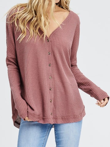 Nonchalant Thermal Top