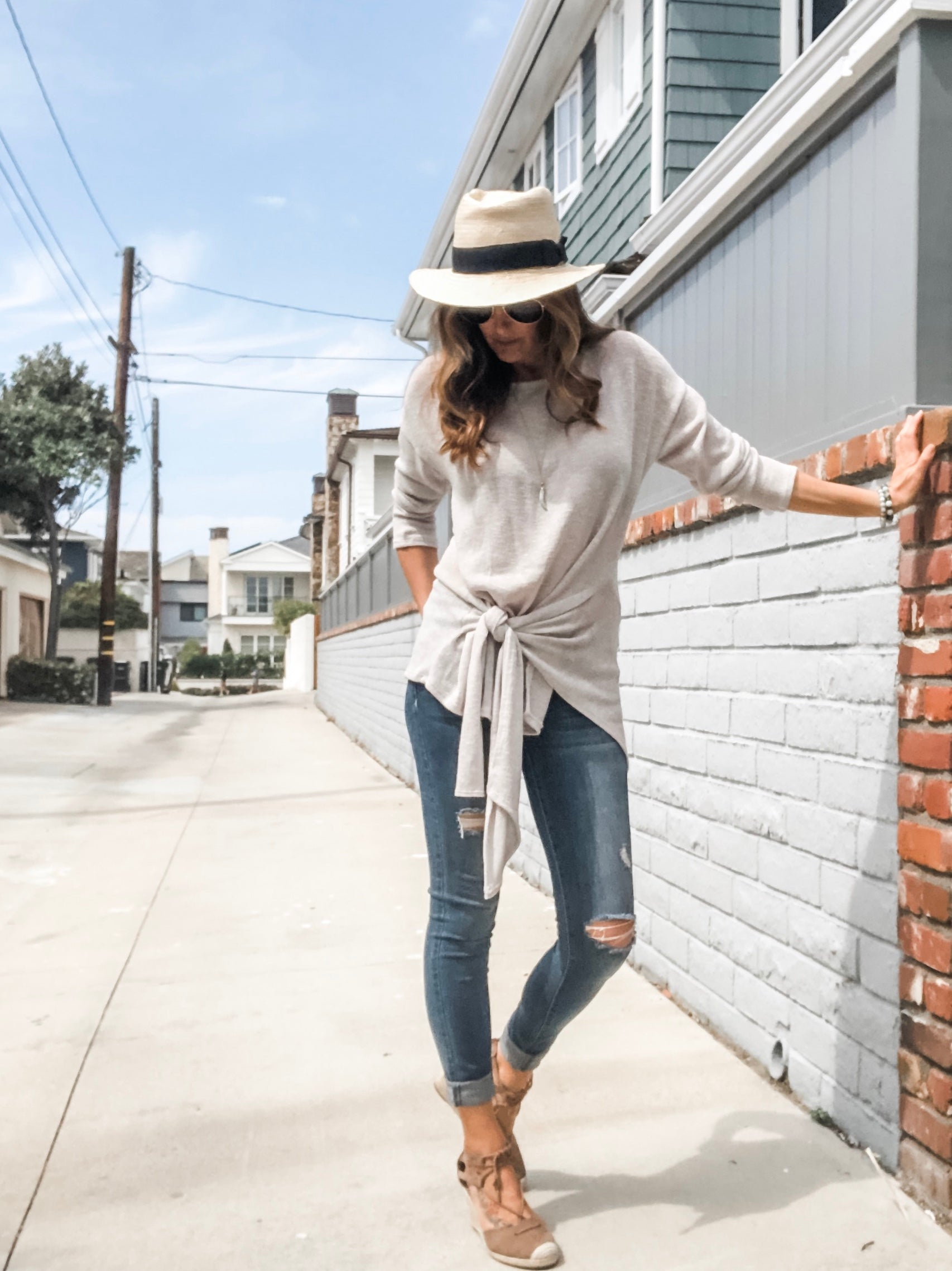 Fallon Wrap Top