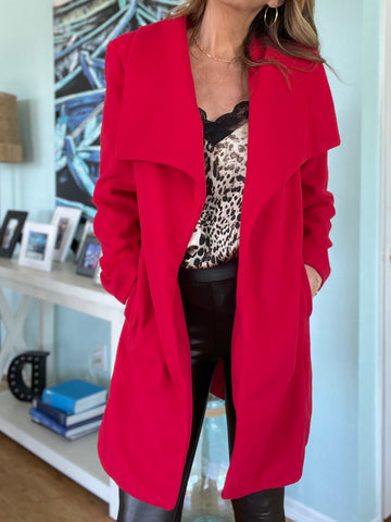 BENDEL Coat - Red