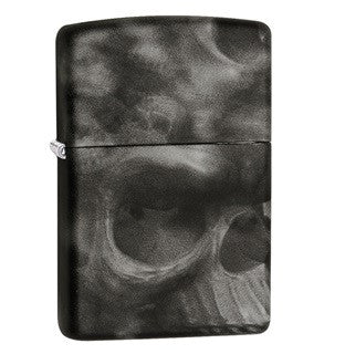 Zippo Classic Skull - Soft Touch