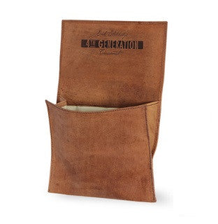 Erik Stokkebye, Roll-Up Tobacco Pouch - Hunter Brown