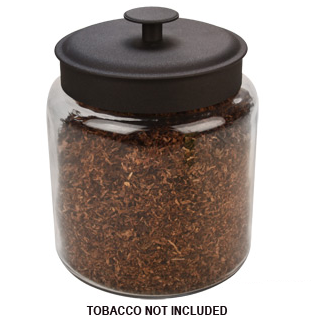 Tobacco Glass Canister