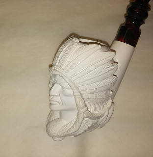 SMS Meerschaum, Indian-Buffalo / SOLD