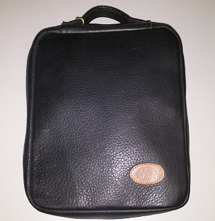 Black Yak Leather Pipe Case - 5 Pipes