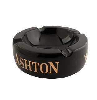 Ashton Ceramic Cigar Ashtray - Black / SOLD OUT