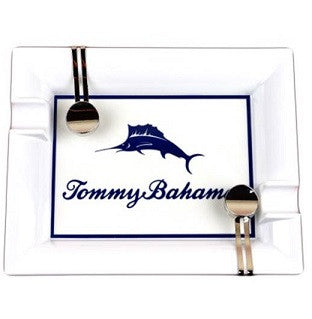 Tommy Bahama Indoor/Outdoor Ashtray - Signature Marlin