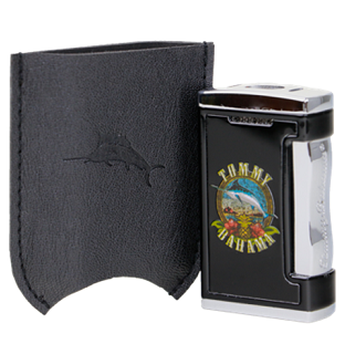Tommy Bahama Dual Torch Pocket Lighter - Cigar Band