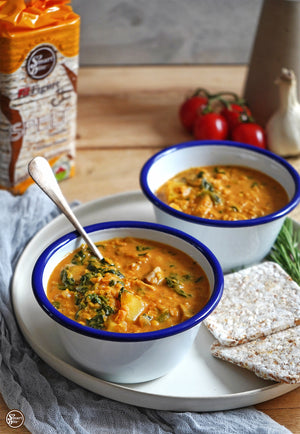 COCONUT RED LENTIL CURRY IS HERE TO DOMINATE SOUP SEASON