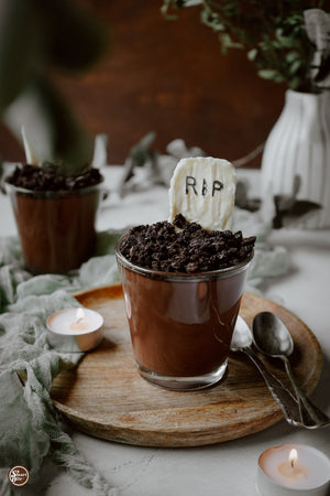 Undead + Delicious: The Halloween Pumpkin Chocolate Pudding You Need to Make Before Trick-Or-Treating