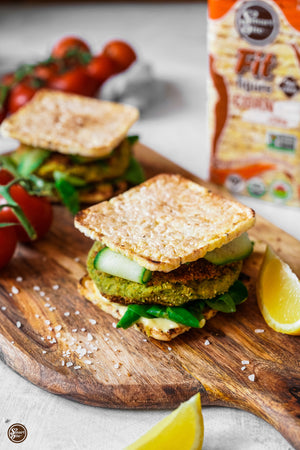 It's Celiac Awareness Month + National Burger Month: Let's Make the Easiest-Ever Gluten Free Veggie Burgers