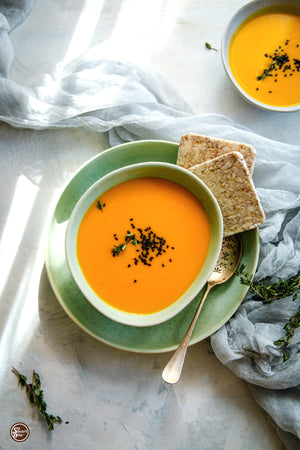 IF YOU AREN'T MAKING PUMPKIN SOUP IN OCTOBER, ARE YOU REALLY LIVING?