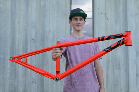 Deity Cryptkeeper 2017 Frame Orange *DEMO* - Chainline Bikes