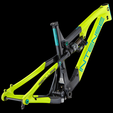 Intense Recluse SL Frame 2018 Yellow Turquoise