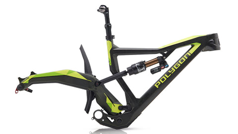 Polygon XQUARONE EX 9 2018 Green Frame Set
