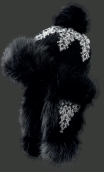 "Starling Faux Fur Hat #02053H ""KARO"" - Hull"
