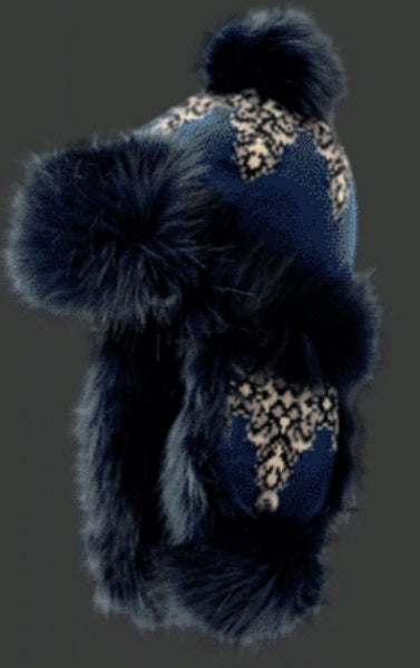 "Starling Faux Fur Hat #02053K ""KARO"" - Hull"