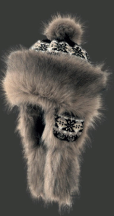 Starling Faux Fur Hat #02056E