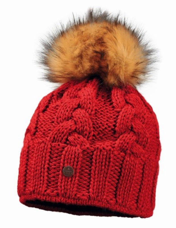 Starling Faux Fur DESNA Beanie Hat #02125J - Hull