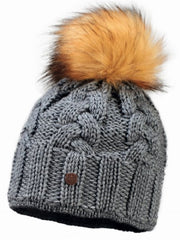 Starling Faux Fur DESNA Beanie Hat #02125S - Hull's of Frankfort