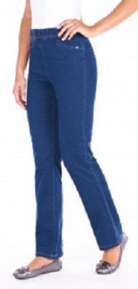 "FDJ French Dressing Jeans PETITE #859106N 30"" Suzanne Bootcut Legging - Hull"