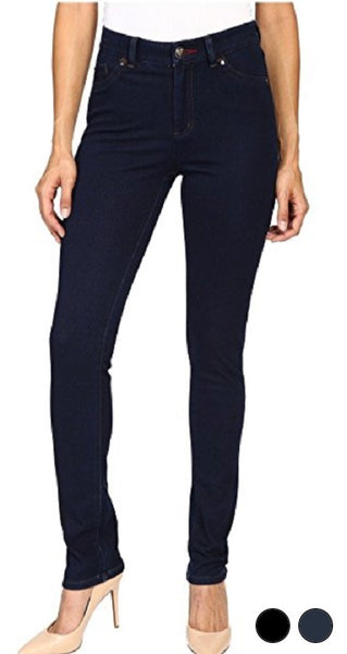 FDJ French Dressing Jeans BLACK & INDIGO #2340214 LOVE DENIM Olivia Slim Leg