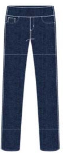 "FDJ French Dressing Jeans INDIGO 28"" Ankle Jegging #2778214 ""LOVE"" PREMIUM DENIM - Hull"