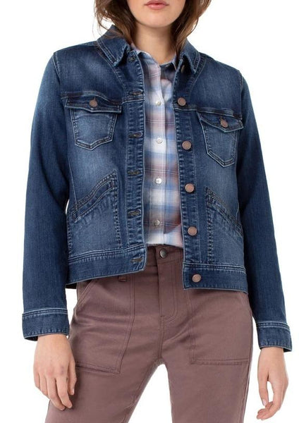 Liverpool LM1490F64 CLASSIC HIGH PERFORMANCE DENIM JACKET