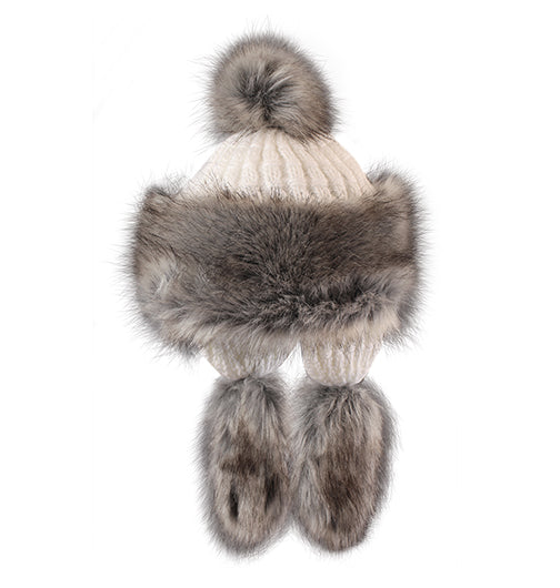 "Starling Faux Fur Hat #F703A ""SOPHIE"""