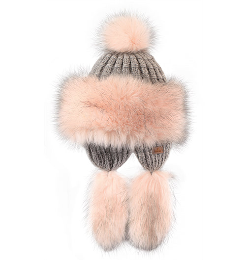 "Starling Faux Fur Hat #F703B ""SOPHIE"""