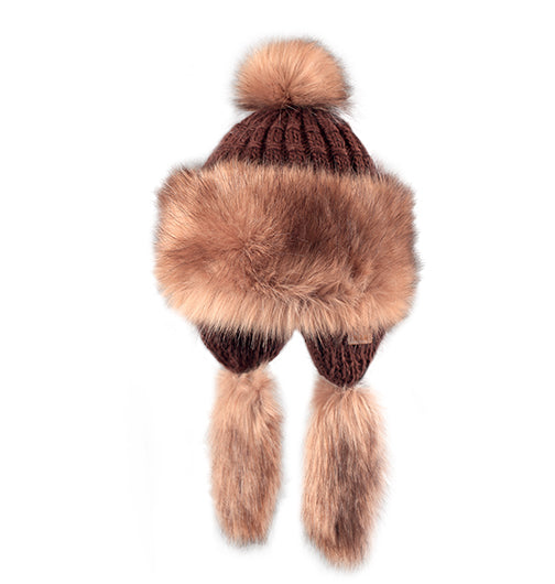 "Starling Faux Fur Hat #F703D ""SOPHIE"" - Hull"