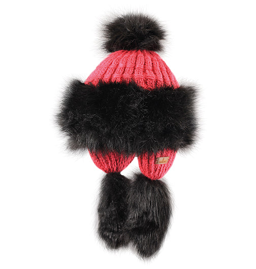 "Starling Faux Fur Hat #F703E ""SOPHIE"""