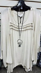 Fish Bone Long Necklace BEST SELLER! - Hull's of Frankfort