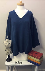 Avalin Sweaters--20+ COLORS--Oversized All Cotton Sweater #9079 Made in U.S.A. - Hull's of Frankfort