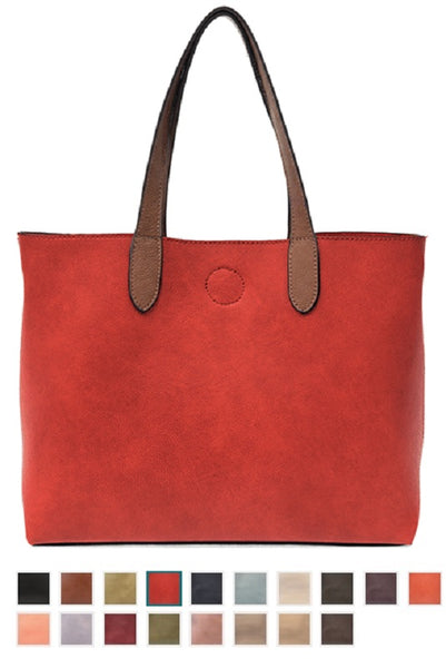 "JOY SUSAN More Colors #L8034 New ""Mariah"" Medium Convertible Tote"